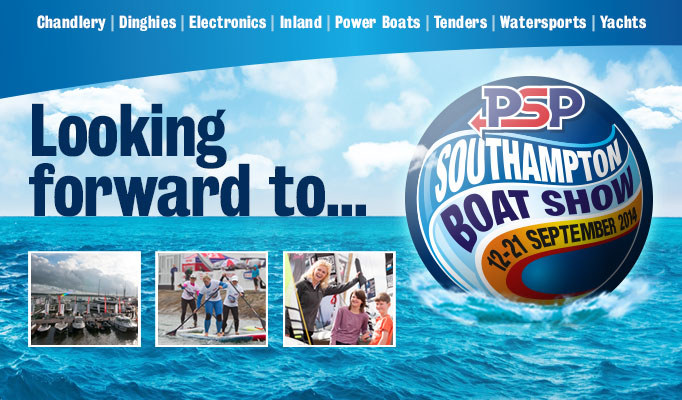 See us at the Southampton Boat Show 2014