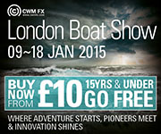 London Boatshow 9th - 18th January 2015
