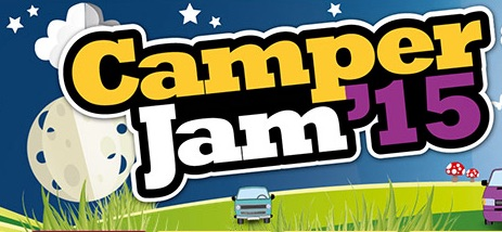 Camper Jam 2015, 3rd - 5th July, Weston Park, Shropshire